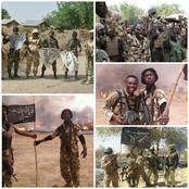 Check Out Photos Of Nigerian Troops In High Spirit After Successful Operations Against Boko Haram