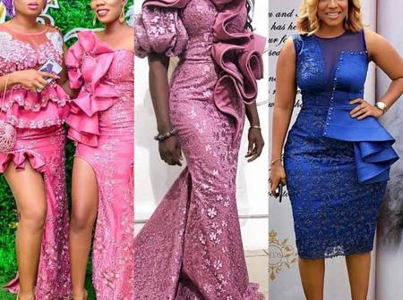 Beautiful Owambe Lace Styles To Rock In Any Occasion