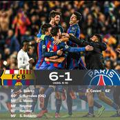 Flashback: It's four years ago Barcelona pull off one of the greatest champions league comebacks