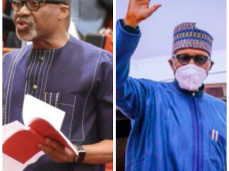 Sen. Abaribe Makes Powerful Statement On Buhari's Last Order Before Leaving Nigeria For Check-up