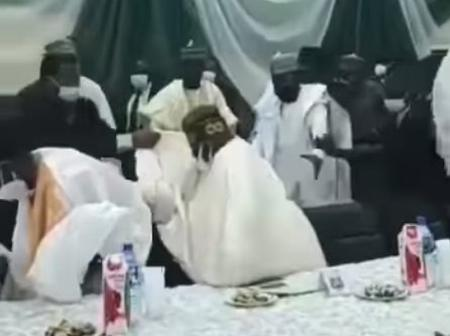 After Tinubu Stumbled In Kaduna, See The Video Sanwo-Olu's Aide Posted That Got People Talking Online