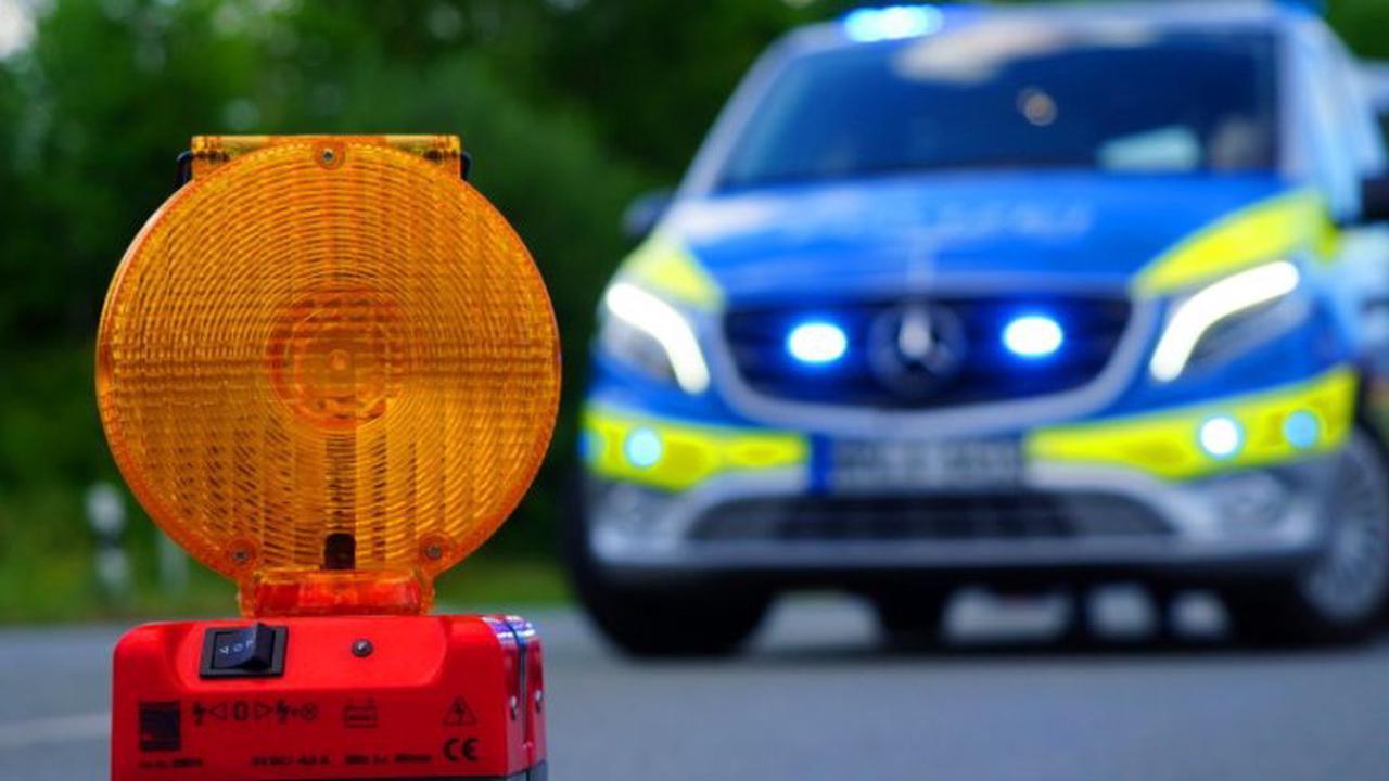 Verkehrsunfall mit schwer verletztem Motorradfahrer bei Zierenberg