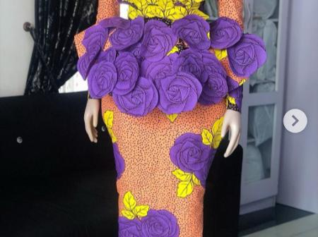 Elegant And Classy Skirt And Blouse Styles For Beautiful Ladies (Photos)