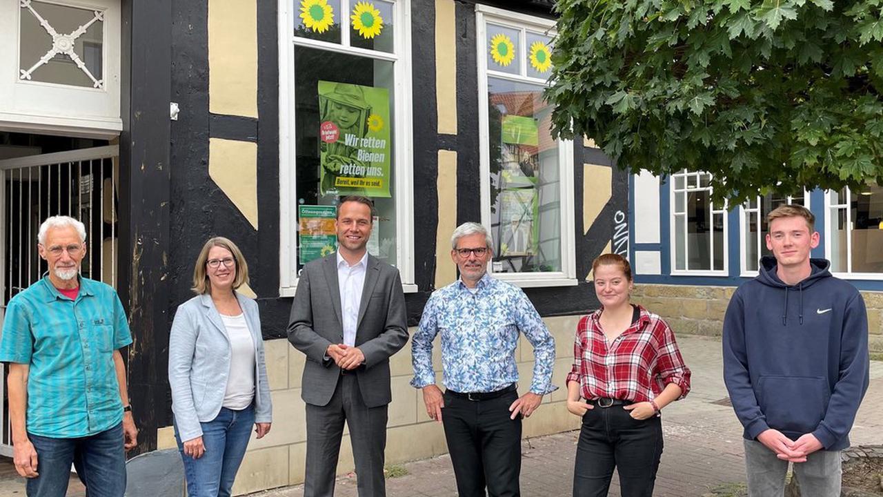 Stefan Brix und die Grünen unterstützen SPD-Bürgermeisterkandidat Berger