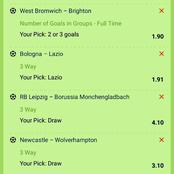Five Multi Bets That are well Analysed with High Odds To Bank On Tonight
