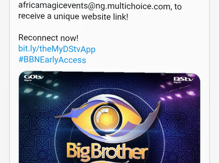 Multichoice Nigeria announces auditions for BBNaija