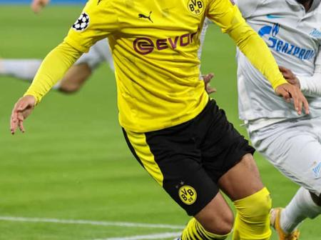 What Sancho Said Of The Referee After Dortmund Lost To Man City In The UCL Could Land Him In Trouble