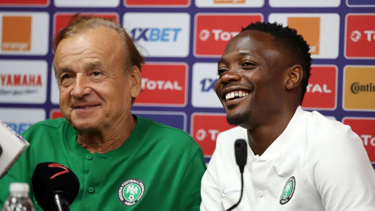 Rohr wants Musa to sort out his career before Nigeria's Afcon qualifiers