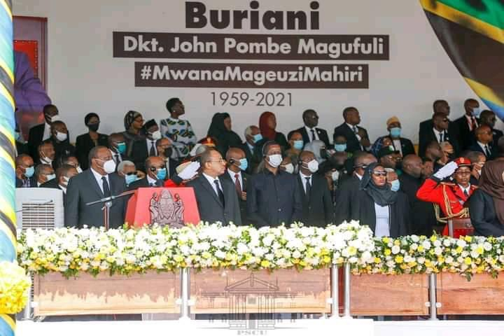 88b9563564ee4f0a89eb528763268cd7?quality=uhq&resize=720 - Day 2: Sad Scenes From Tanzania As Their President, John Magufuli Funeral Rites Proceeds - Photos