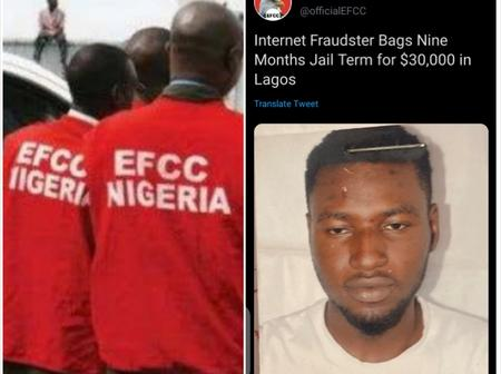 Few Days After Efcc Sent Warning To Yahoo Boys, Internet Fraudster Jailed In Lagos Over $30,000 Scam
