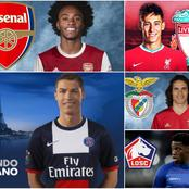 Latest Done Deals And Transfer Updates Involving Cavani, Willian, C.Ronaldo, And Others