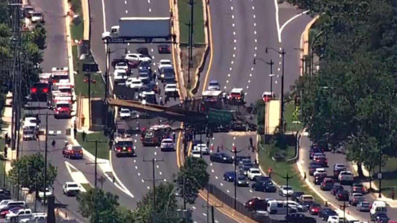 Pedestrian Bridge Collapses Onto 295 in DC; 6 Hurt