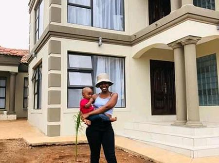 25 year old Limpopo women stuns mzansi with a huge mansion,