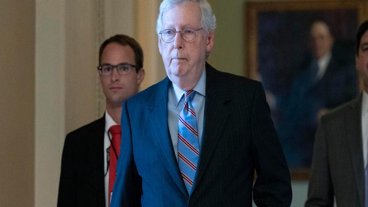 Dems hit McConnell, who says GOP won't back debt limit boost