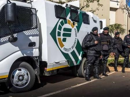 Sh0cked: Here's how much Fedility, SBV and G4S workers get paid for protecting millions of rands
