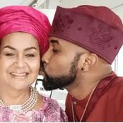 Check Out Some Pictures of Banky W And His Mother