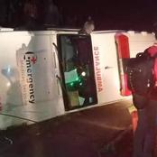 Double Pain After a Drunk Driver Rolls an Ambulance With Patients Inside