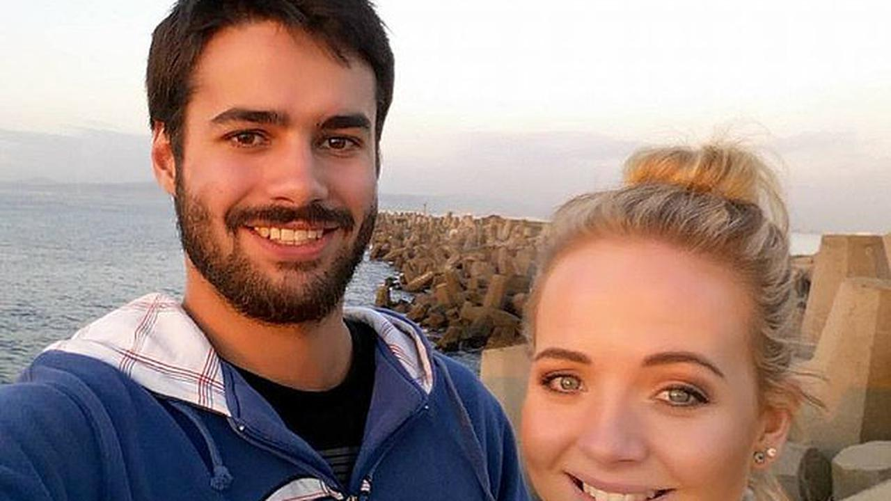 Hotel boss is charged with MURDER after young couple's naked bodies are found in shower at South African farm guesthouse