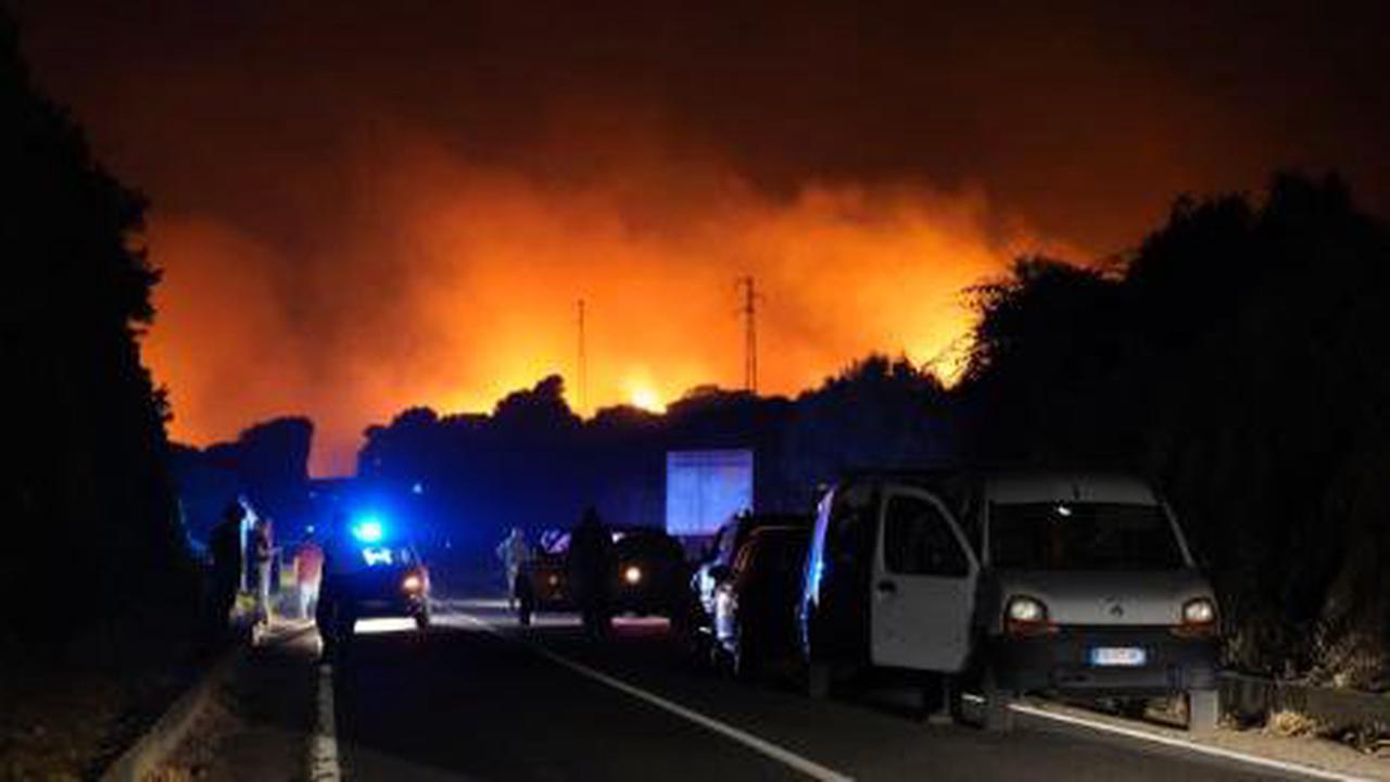 Feuer-Katastrophe im Urlaubsparadies