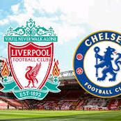Liverpool versus Chelsea Updates.