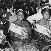 (Throwback photos) 4th March 1957, Ghana crowned the first Miss Ghana queen, Monica Amekoafia.