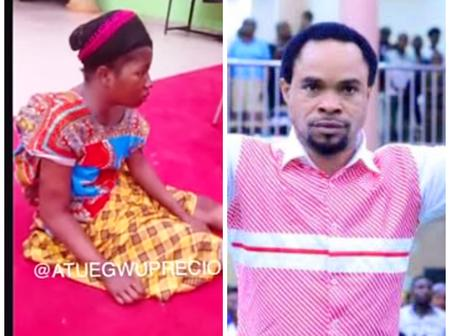 Ada Jesus Went To Indaboski's Church To Beg For Forgiveness, See How The Prophet Responded (Video)