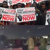 ENDSARS: Soldiers open fire on protesters at Lekki Toll gate as protest turns brutal and fearful