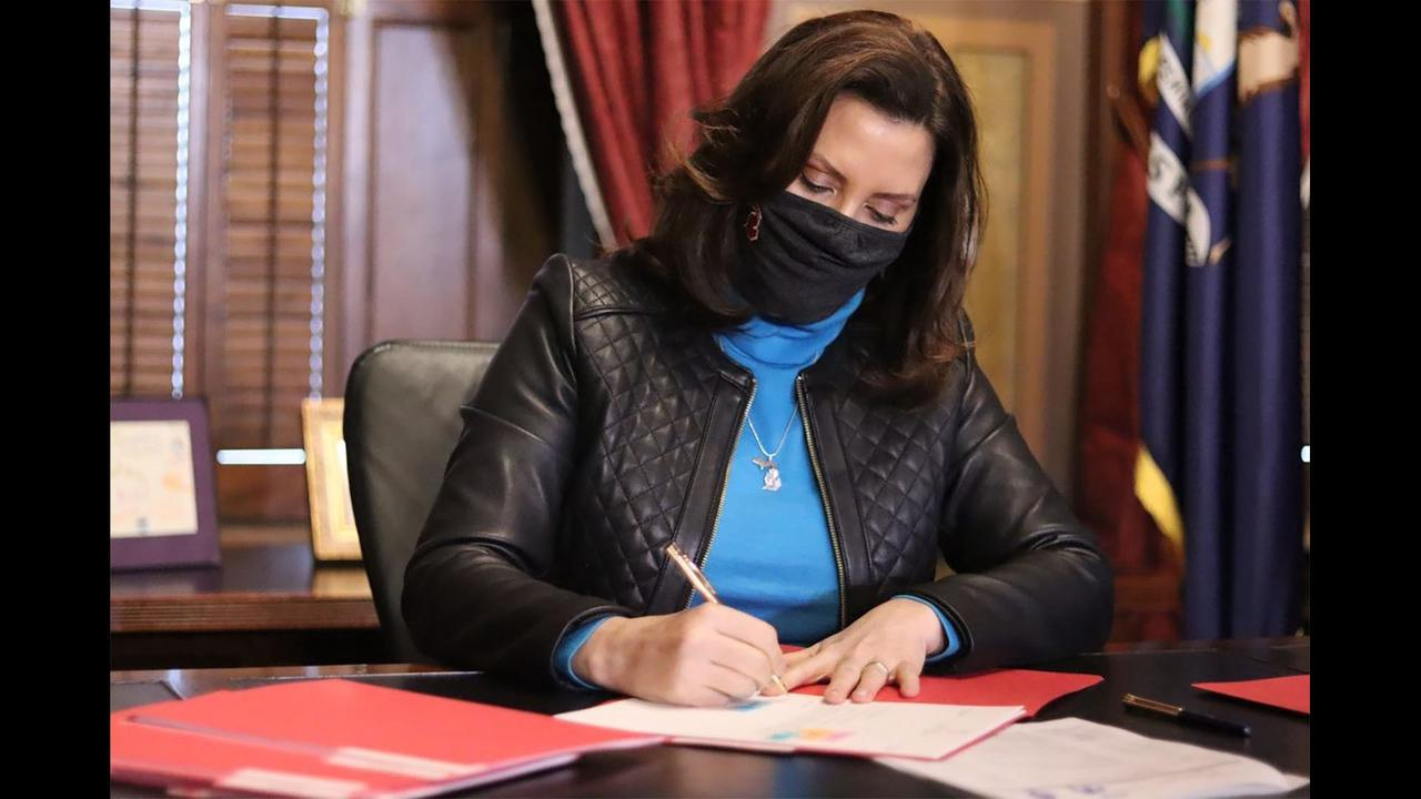 Whitmer Signs $106 Million State Relief Bill