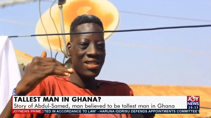 89064fe62380461db41a4cf1730eff8b?quality=uhq&resize=720 - Kojo Oppong Nkrumah Causes Stir With The Tallest Man In Ghana, Abdul-Samed As They Posed For A Photo