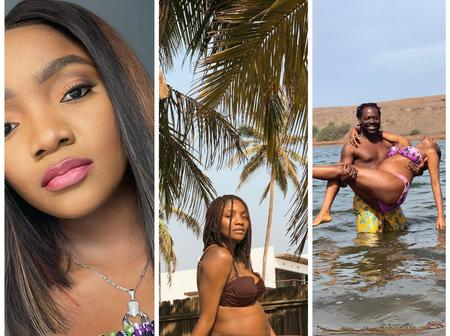 Checkout Adorable Photos Of The Beautiful Nigerian Celebrity Who is a Nursing Mother But Still Slays