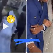 Video: Groom Cancels Wedding After Catching His Bride Doing This With Another Man
