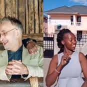 Love Wins, See The Amazing Story of A Nakuru Woman,28, Who Is Married To a 60 -year- old  German