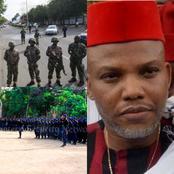 Orlu Saga- See Video Of Soldiers Shooting Suspected Members Of Kanu's ESN In Imo State (Watch Video)