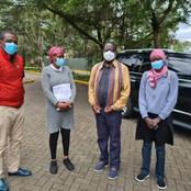Raila Visits Ailing Rugby Legend Benjamin Ayimba at Nairobi Hospital and Clears Pending Bill