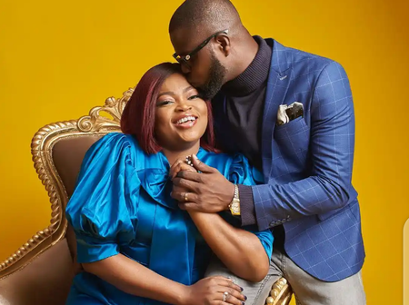 JJC Skills reveals how Funke Akindele won his heart and made him fall in love with her (See photos)