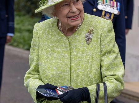 Here is why Queen Elizabeth II was Allowed to Step out Without a Face Mask.