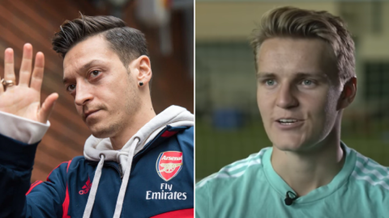 Odegaard responds to Ozil comparisons and sends message to Arsenal fans