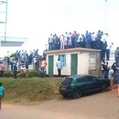 Chaotic Scenes at Bhukhungu As Fans Attempt To Access The Venue to Watch An AFC Leopards Game