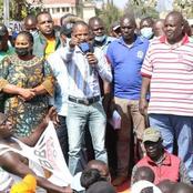 'Lazima Raila Awe President' Babu Owino's Sentiments Causes A Stir Online