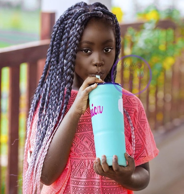 894521300c6a5b54b7977635c33a5f98?quality=uhq&resize=720 - Meet Sante Nsiah-Apau, The Cute Daughter Of Okyeame Kwame Who Is The Youngest Entrepreneur In Ghana