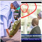 After Bird Of Honour Refused To Fly Away From Buhari's Hands, See What He Said About Our Country