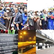 See the Top Politicians Who Came to PH as Donald Duke Commissioned Okoro Flyover Today in Rivers
