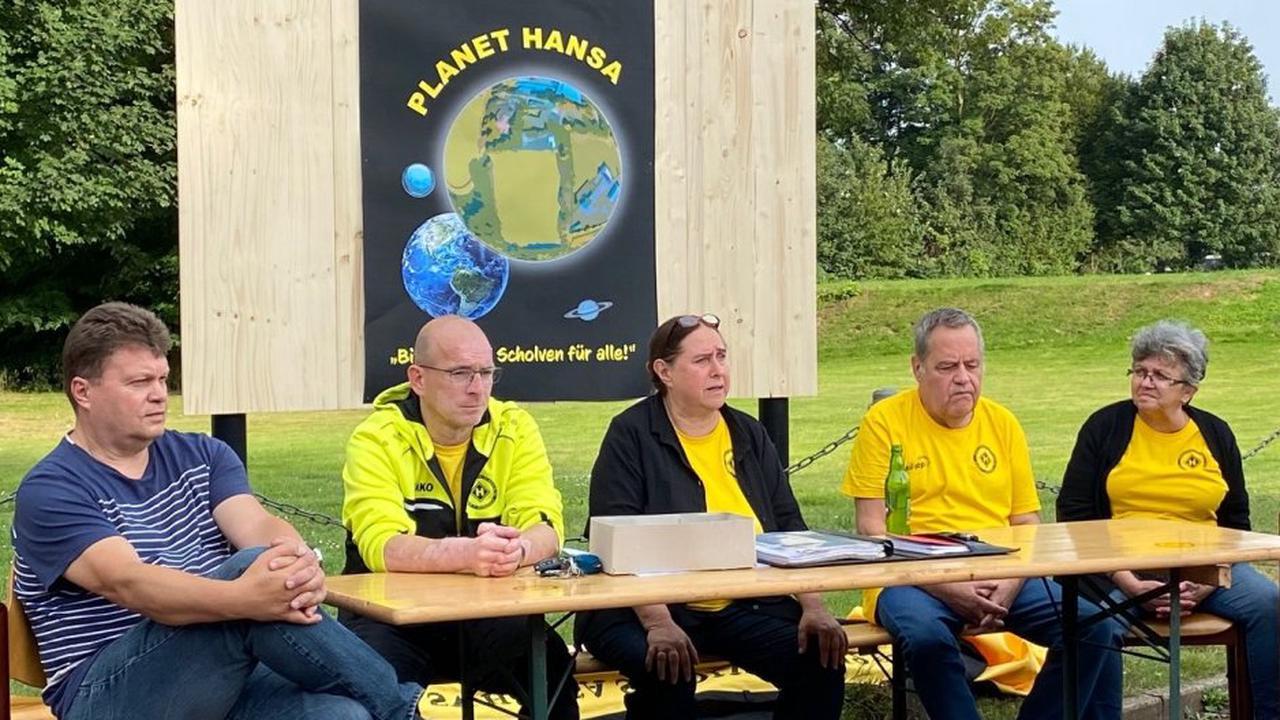 Hansa Scholven plant Planeten gegen den Zweckel-Umzug