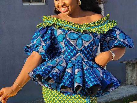 Few Days To Easter, Check Out These Stylish Ankara Blouse Designs for Fashionistas