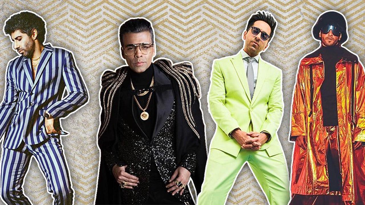 Ayushmann Khuranna, Ranveer Singh & Other Bollywood Stars Who Love Their Quirky Clothes