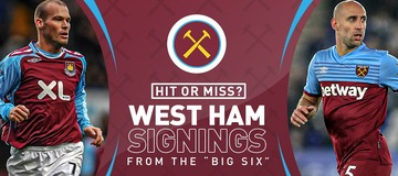 West Ham transfer history: Who is the club's most 'typical' signing?
