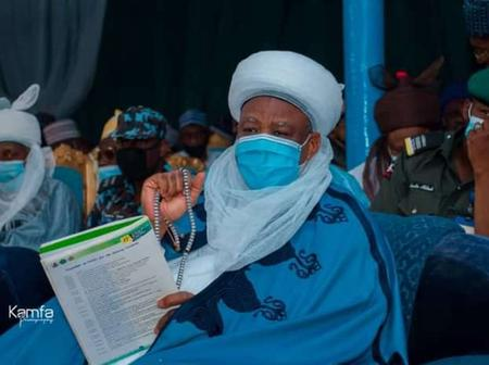 Photos: His Eminence, Alh. Saad Abubalar Attends Closing Ceremony of National Quranic Competition.