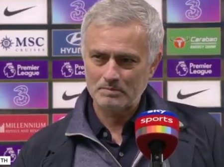 Jose Mourinho Shades Thiago Silva and Chelsea After The Goaless Draw At Stamford Bridge