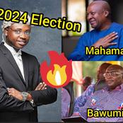 "Trending: ""Dr. Bawumia Vs John Mahama In 2024, The Winner Is Clear"""
