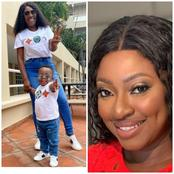 Yvonne Jegede And Her Son Xavier Rock Lovely Eyeglasses (Photos)